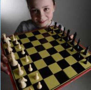 Gold for young chess star