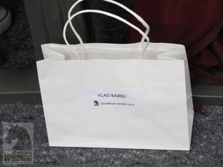 Personalised goodie bag on arrival