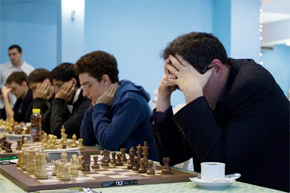 Russian Team Championship: 64 (Moscow) wins, by half a board point