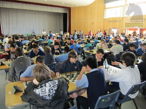 Chess Power National Finals 2011 Main Hall