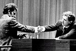 Breaking news: Fischer loses first game to Spassky in Reykjavik