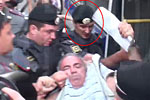 Did he bite a police officer? Kasparov on his unlawful arrest