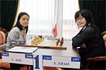 Nalchik GP: The Zhao Xue express steams on