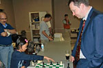 Nigel Short simul and lectures at RA Chess Club