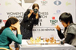 WWCC R06: Hou Yifan wins, takes two-point lead