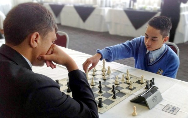 Joseph Teofilo at the Chess Power National Finals 2015
