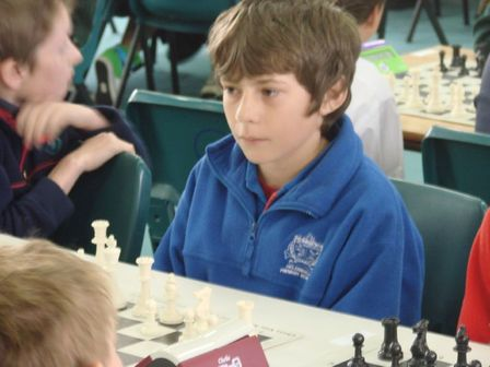Students have the right chess moves
