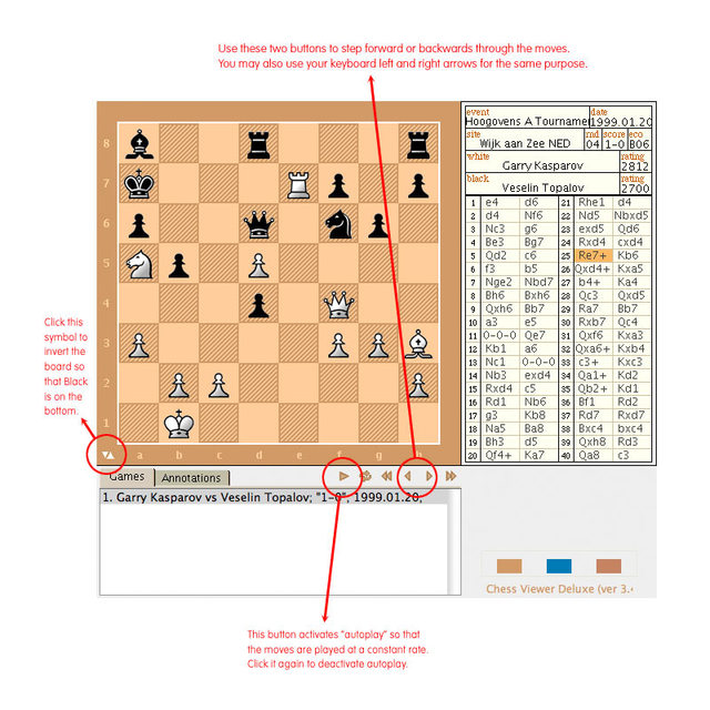 Chess Viewer Deluxe Guide