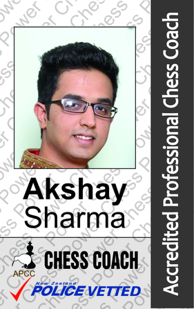 Akshay Sharma - Chess Coach