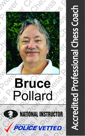 Bruce Pollard - Chess Coach and Arbiter