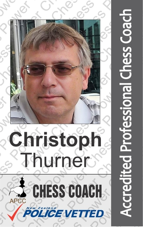 Christoph Thurner - Chess Coach