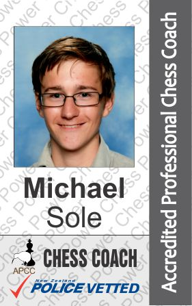 Michael Sole - Chess Coach
