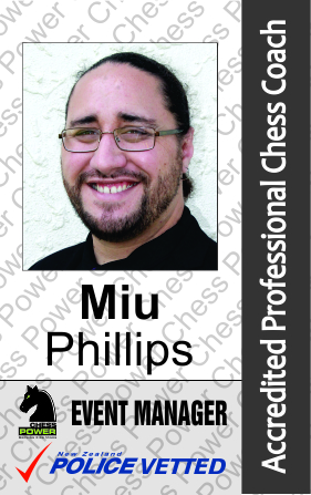 Miu Phillips - Chess Organiser