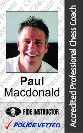 Paul Macdonald - Head Coach and Coach Trainer