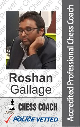 Roshan Gallage - Chess Coach and Arbiter