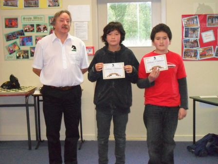 Term 2 2011 Interschools Chess Tournament Results - Oamaru Zone