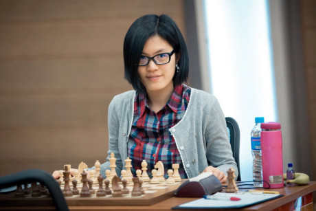 Hou Yifan - multiple times Woman's World Champion