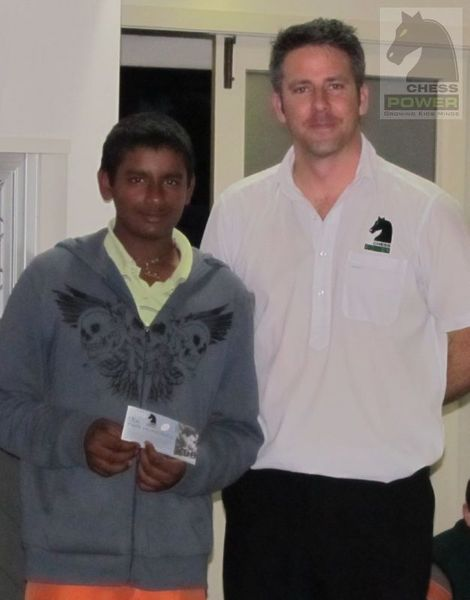 Winner of the Master Challenge - Kumaa Jayachanthiran
