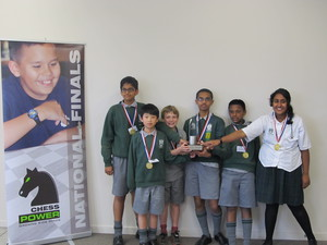 Chess Power National Finals 2015 Intermediate Division Champions