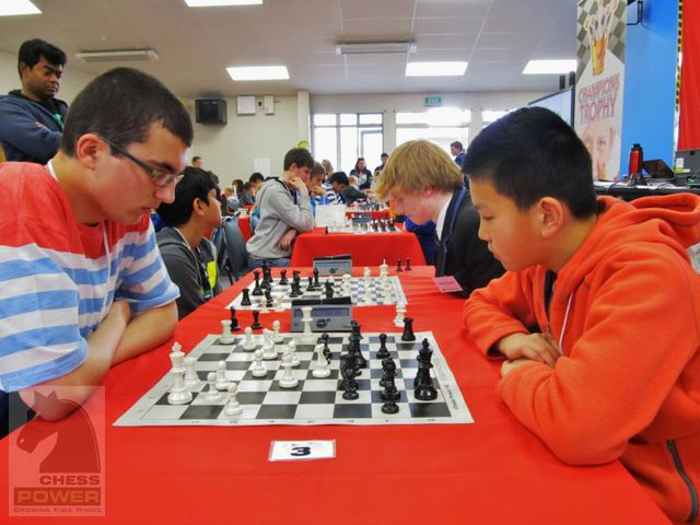 Vlad Barbu takes on Louie Wei on Board 3