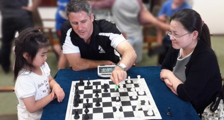 One-on-one chess coaching